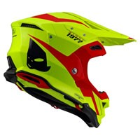 Ufo Offroad Helmet Diamond Fluo Yellow