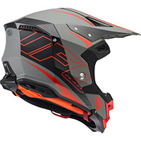 Ufo Diamond Helmet Matt Black Fluo Red
