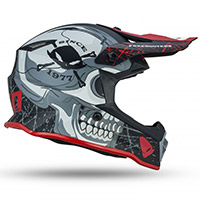 Ufo Freebooters Kid Helmet Grey Kid