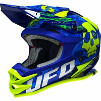 Ufo Casco Cross Diablo Onyx