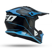 Ufo Intrepid Helmet Black Blue
