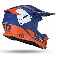 Ufo Intrepid Helmet Blue Orange