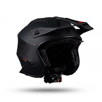 Ufo Sheratan Helmet Black Red
