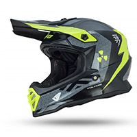 Casque Enfant Ufo Voltage Gris Jaune