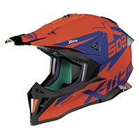 Casco X-Lite X-502 Matris Naranja Led