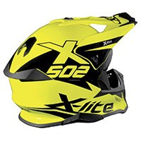 Casco X-Lite X-502 Matris Amarillo Led