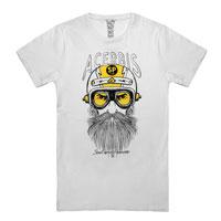 Acerbis T-shirt Rawrider White