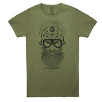 Acerbis T-shirt Rawrider Urban Green