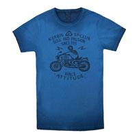 Acerbis T-shirt Rawattitude Blu 4