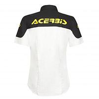 Acerbis Shirt Team Lady White Black