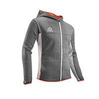 Acerbis Sweatshirt Belatrix Hoodie Grey Orange