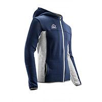Acerbis Sweatshirt Belatrix Hoodie Blue Grey