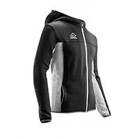 Acerbis Sweatshirt Belatrix Hoodie Black Grey