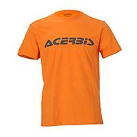 Acerbis T-logo Orange