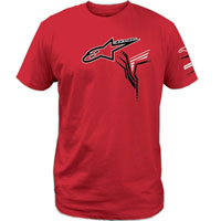 Alpinestars T-shirt Gp Plus Tee Rosso