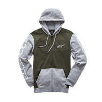 Alpinestar Felpa Machine Fleece Verde