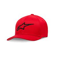 Cappellino Alpinestars Ageless Curve Rosso