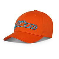 Alpinestars Blaze Flexfit Hat Orange Blue