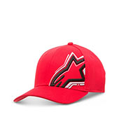 Alpinestars Circuit Skyway Hat Rosso