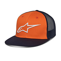 Cappellino Alpinestars Corp Trucker Arancio