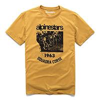 T Shirt Alpinestars Crew Premium Mustard