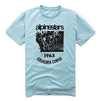 T Shirt Alpinestars Crew Premium Pale Blu