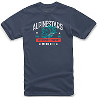 T-shirt Alpinestars Disorderly Tee Navy