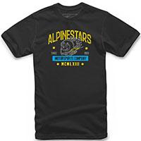 T-shirt Alpinestars Disorderly Tee Nero