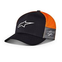Cappellino Alpinestars Foremost Tech Navy Arancio