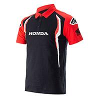Alpinestars Honda Polo Rosso Nero