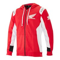 Alpinestars Honda Zip Hoodie Orange