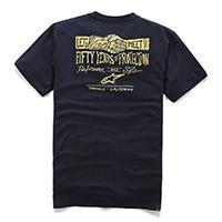T Shirt Alpinestars Meet Premium Indigo