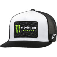 Alpinestars Monster Energy Champ Trucker Hat White