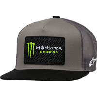 Alpinestars Monster Energy Champ Trucker Hat Grey
