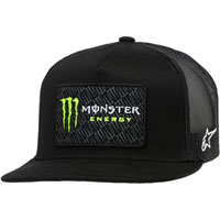 Alpinestars Monster Energy Champ Trucker Hat Black