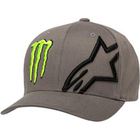Alpinestars Monster Energy Corp Hat Grey