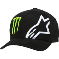 Sombrero Alpinestars Monster Energy Corp negro