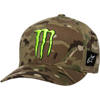 Alpinestars Monster Energy Multi Camo Hat Green