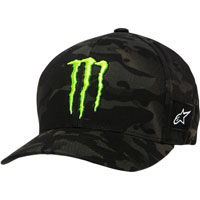 Alpinestars Monster Energy Multi Camo Hat Black