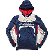 Alpinestars Session Zip Fleece Hoodie Navy