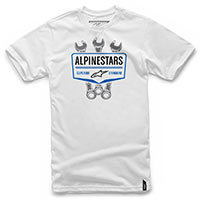 Alpinestars Shift Tee Bianco