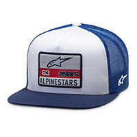 Cappello Alpinestars Sponsored Bianco Navy