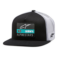 Alpinestars Sponsored Hat Black White