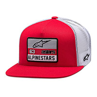 Alpinestars Sponsored Hat Red White