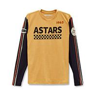 Alpinestars Stadium Ls Tee Gold