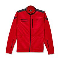 Alpinestars Stint Faster Track Fleece Red Black
