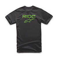 T-shirt Alpinestars Ride 2.0 Nero Verde