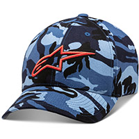 Alpinestars Visible Hat Camo Blue