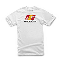 Alpinestars World Tour Tee Bianco