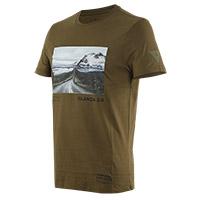 T Shirt Dainese Adventure Dream Olive